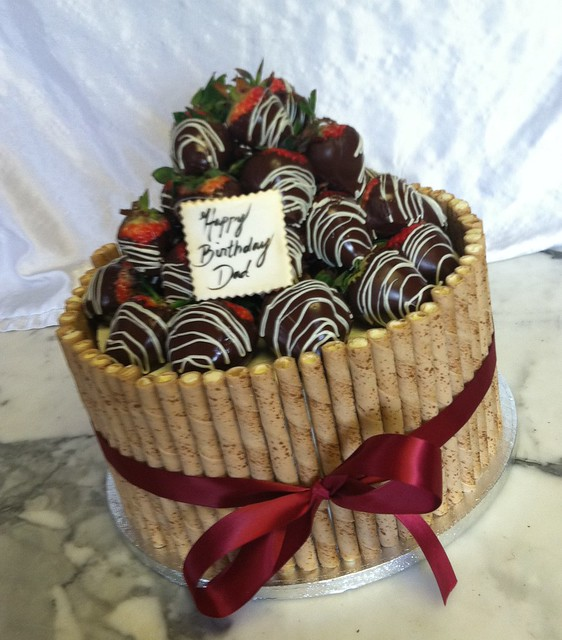 Chocolate Covered Strawberry Cake | Flickr - Photo Sharing!