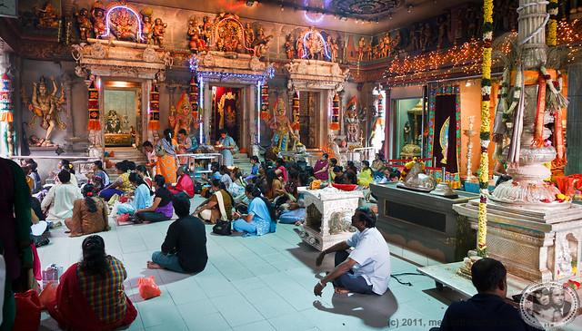 Inside the Hindu temple   Ann Svoboda   Flickr   Inside A Hindu Temple