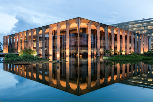 Brasilia Reflection
