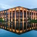 Brasilia Reflection by Nomadic Vision Photography