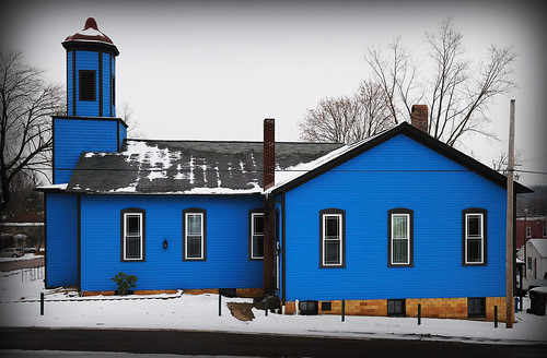 blue winter ohio snow church geotagged nikon raw nef cx2 cs5 shiftn canalfultonohio d3s starkcountyohio nikkor2470f28 nikongp1 salemreformedchurch