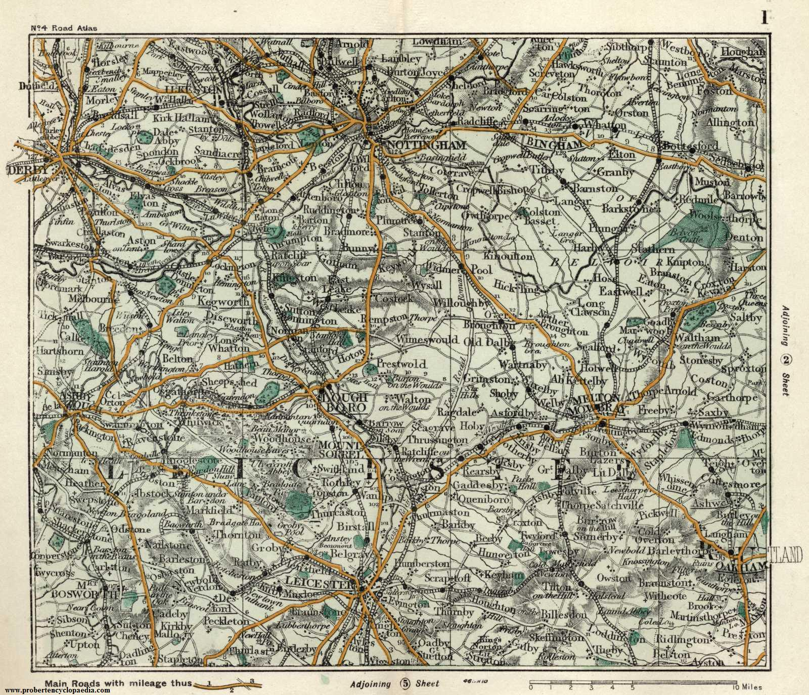 nottinghamshire and leicestershire 1905 old maps of. Black Bedroom Furniture Sets. Home Design Ideas