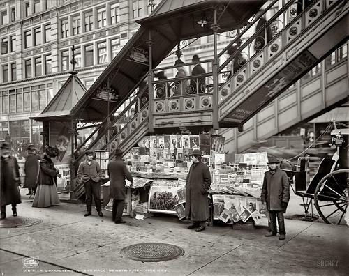NY Newsstand 1903