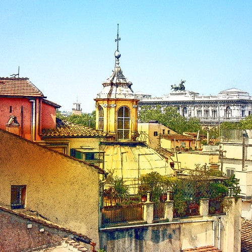 italy rome apartment rooftops ancientcity victoremmanuel 10faves coloursofrome