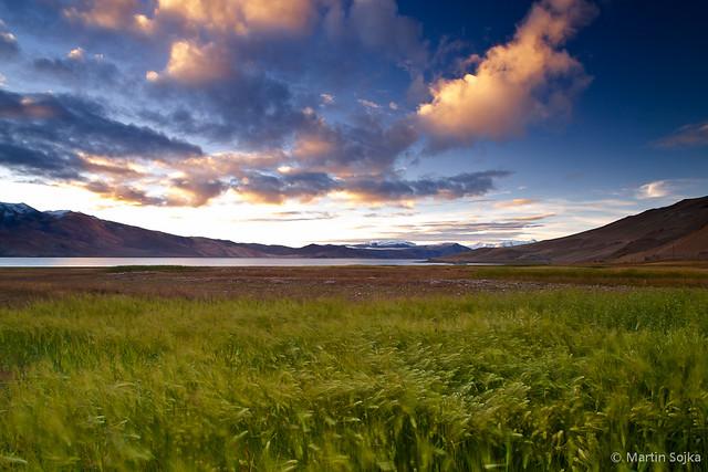 Tranquil Morning by Lake Tso Moriri ~ Ladakh, India