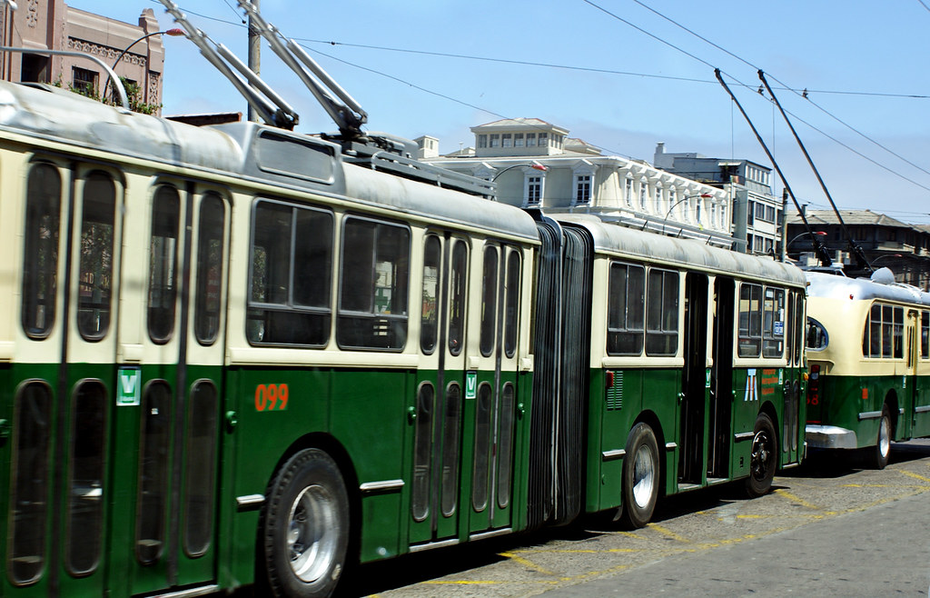 Trolebus - Valparaiso - Chile