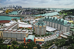 Sentosa update – View from Tiger Sky Tower