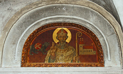 saint painting bayern bavaria cathedral dom holy freising heiliger gemälde krypta korbinian corbinian dorenawm