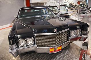 Museum of Automobile History. Cadillac Fleetwood Brougham. 1970. Salamanca. Castilla y León. Spain
