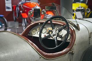 Museum of Automobile History. Amilcar CS. 1925. Salamanca. Castilla y León. Spain