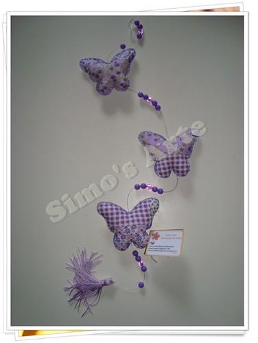 Mobile borboletas by Artes by Simo's®
