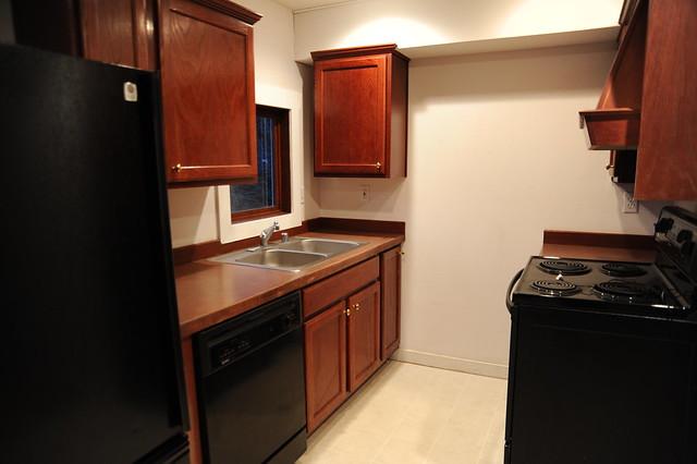 Dark Floor Kitchen Countertops