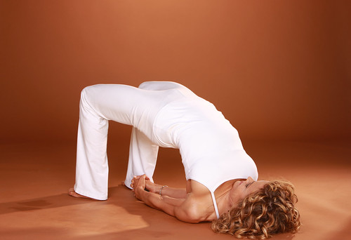 Holly Mosier Bridge Pose (Setu Bandha Sarvangasana)