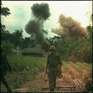 Operation Georgia - Marines blow up bunkers and tunnels used by the Viet Cong