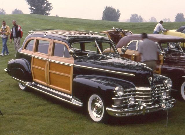 1949 cadillac fleetwood 75 woody 4 door flickr photo for 1949 cadillac 4 door sedan
