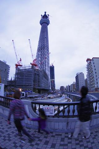 東京スカイツリー 2011年2月