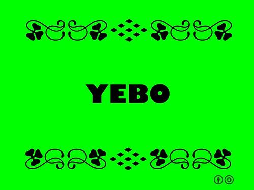 Buzzword Bingo: Yebo