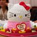 Lunch, Dinners, Janet Hello Kitty Birthday Cake [11.18.2010]