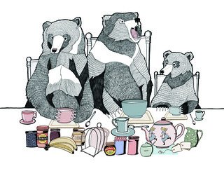 The 3 Bears | by Emily May Illustration