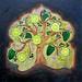 Gormeh Sabzi food painting for the vegetarian recipes cookbook by Australian artist Fiona Morgan