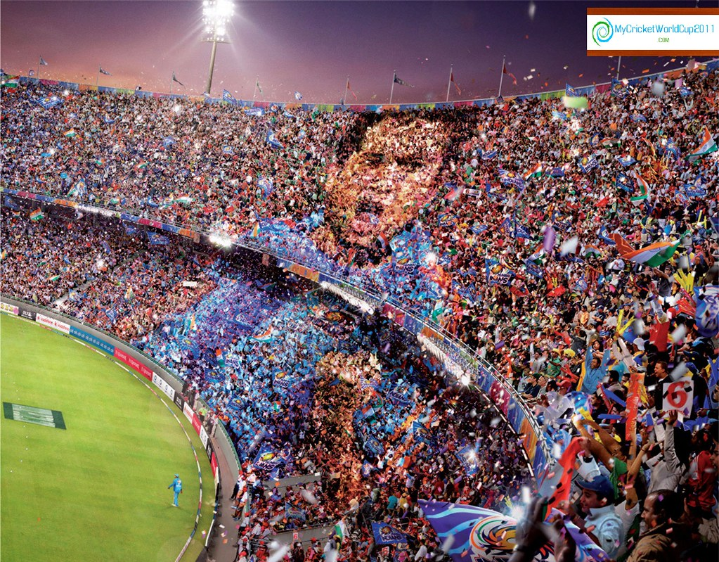 Icc Cricket World Cup 2011 Sachin Wallpaper Wallchart A Photo On