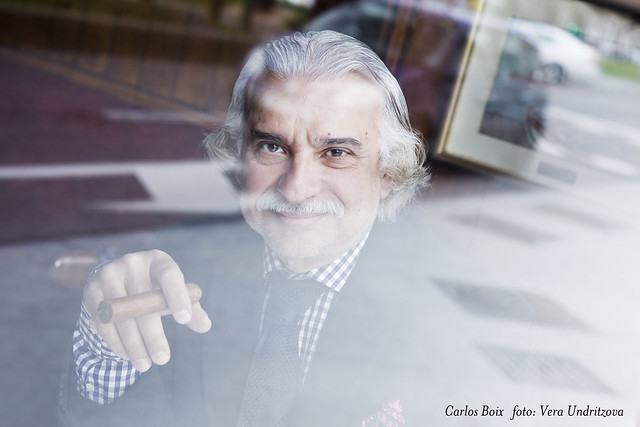 Carlos Boix por Vera Undritzova