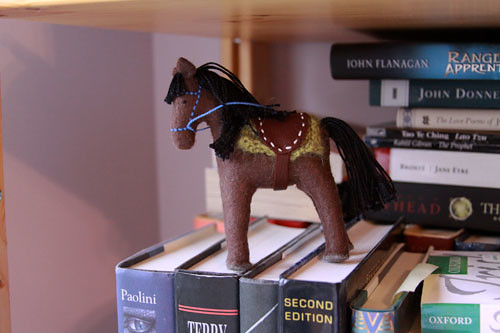 Felt Horse 4