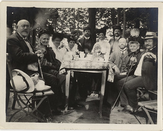 Photographs From a Haas Family Vacation to Bavaria, Germany: Family Picnic in the Hain City Park, Bamberg (circa 1911)