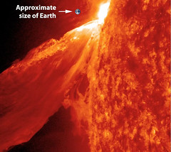 So how BIG was that 'Monster Prominence'?