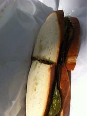 Vegetarian Sandwich @ Caffe Centro
