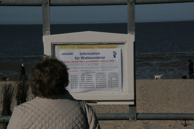 Fremdenverkehrsbeitrag in Cuxhaven an der Nordsee