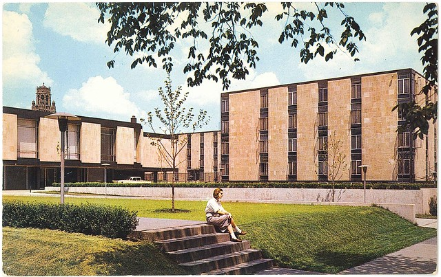New Dorm, University of Chicago, Chicago, Illinois (1958?)