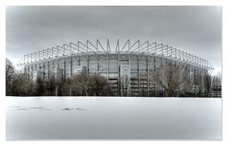 St. James Park Winter