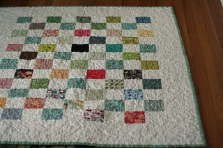 it's hard to photograph a quilt