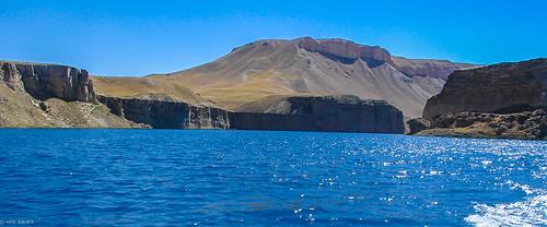 park blue lake afghanistan highlands crystal dam central band first canyon hills national amir bamiyan hazarajat ameer bamyan bamian touraroundtheworld
