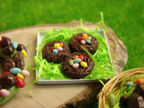 Easter 2011 - Miniature Easter 2011 - Miniature Chocolate Nests
