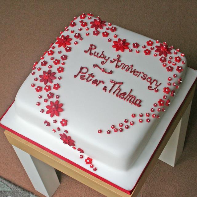 Ruby Anniversary Cake Images : 5532745006_a6073acbdf_z.jpg