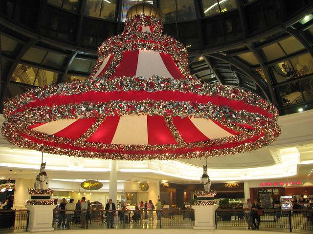 Decoraci n navide a de un centro comercial flickr for Decoracion navidena centro de estetica