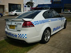 2009 Holden VE Commodore SS - NSW Police