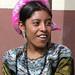 Mujer joven en su traje tradicional - Young woman in her native dress; Fiesta del pueblo - Joyabaj, El Quiché, Guatemala