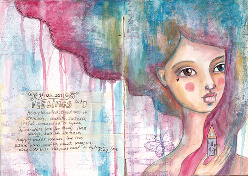 art journal - march 2011
