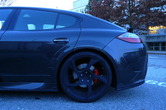 sports car(0.0), automobile(1.0), automotive exterior(1.0), wheel(1.0), vehicle(1.0), automotive design(1.0), porsche panamera(1.0), sports sedan(1.0), rim(1.0), bumper(1.0), land vehicle(1.0), luxury vehicle(1.0),