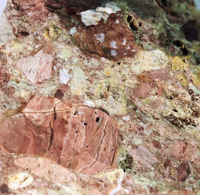Landscaping Rock Yankton Sd : Rhyolite breccia igneous rock custer county south dakota usa g flickr photo sharing