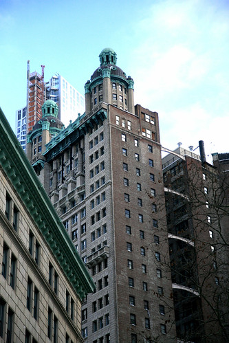 New York City, Lower Manhattan, 15 Park Row Building, 1896-1899.