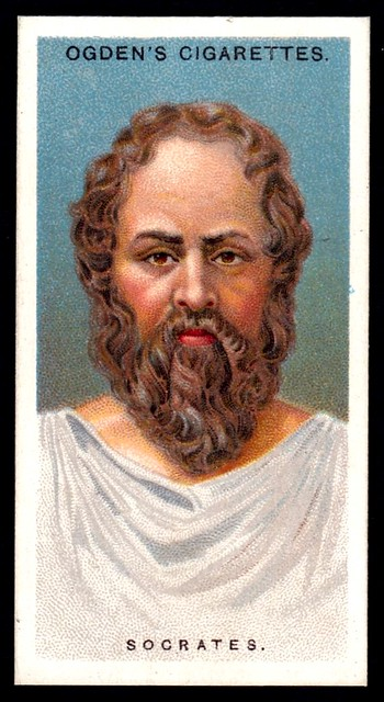 Cigarette Card - Socrates