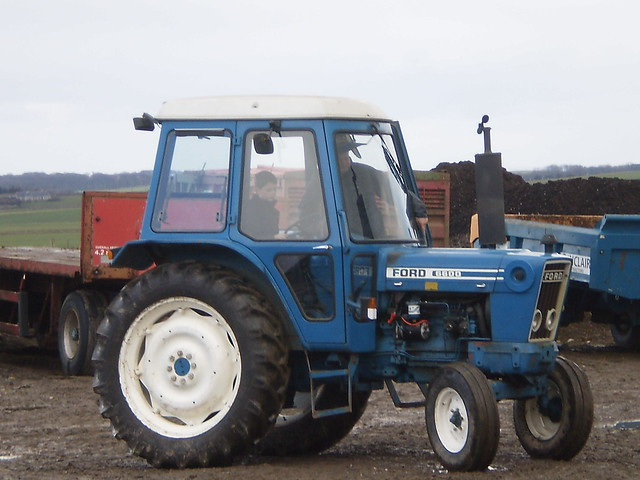 Ford 6600 Tractor : Ford tractor at fiddesbeg flickr photo sharing