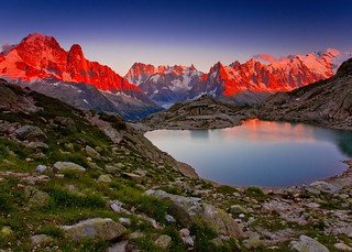 Last Light over Lac Blanc (Explored)