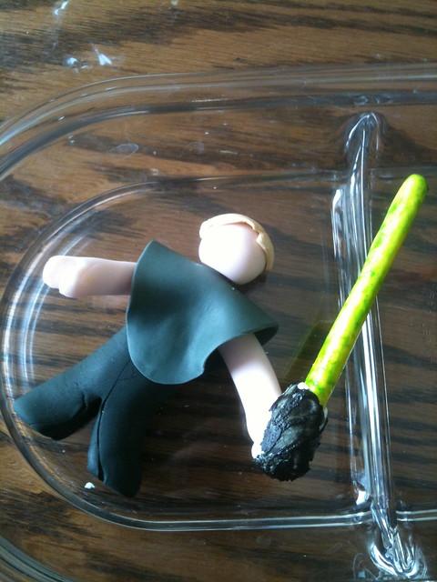 Luke Skywalker Cake Pops