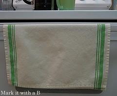 rectangle, textile, green,