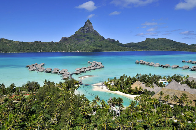 Global view of the InterContinental Bora Bora Resort&Thalasso Spa